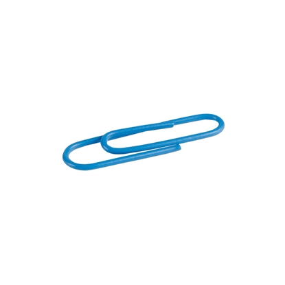 Picture of Milan Paper clips, 33 mm, coloured, 100 pcs., package of 10