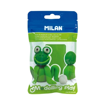 Picture of Milan Clay Modelling Play, 100 g, light green, package of 12