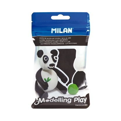 Picture of Milan Clay Modelling Play, 100 g, black, package of 12