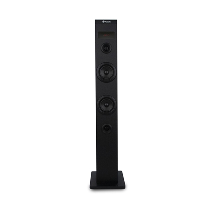 Picture of NGS Speaker Tower Sky Charm, USB, FM radio, 50 W, black