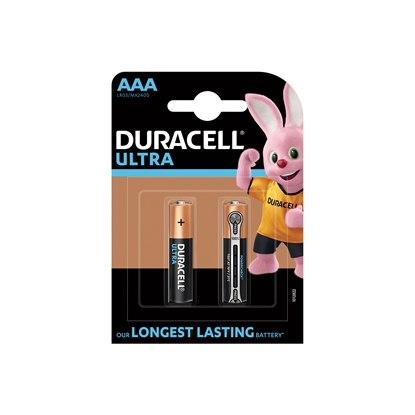 Picture of Duracell Alkaline battery Turbo, AAA, LR3, 1.5 V, 2 pcs.