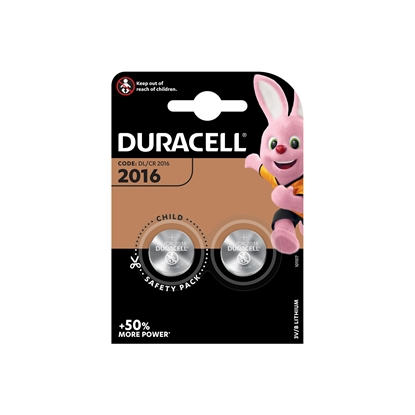 Picture of Duracell Lithium battery Specialty 2016, 3 V, 2 pcs.