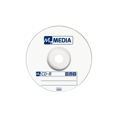 Picture of My Media CD-R, 700 MB, 52x, 10 pcs. in a shrink pack