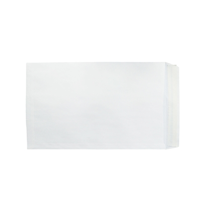 Picture of Office 1 Superstore Mailing Envelope, B4, 250 x 353 mm, paper, peel & seal, white, 250 pcs.