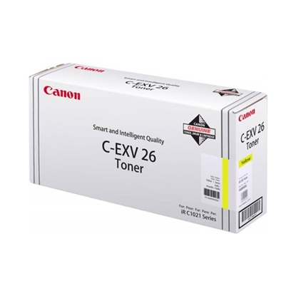 Снимка на Canon Тонер C-EXV26, IRC1028IF, 6000 страници/5%, Yellow